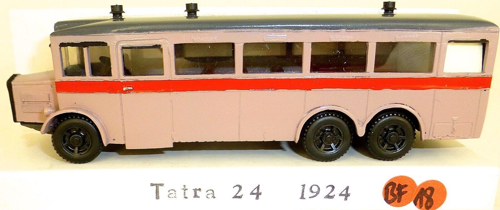 Tatra 24 1924 Resin Bus V&v H0 1 87 BF18 Å