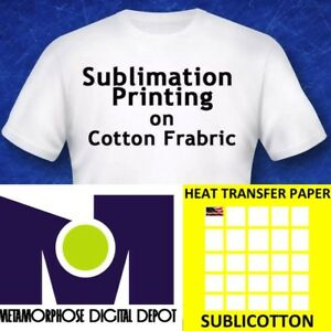 Shirts Mugs 200 Sh 8.5x11 Dye Sublimation Heat Transfer Paper for Polyester T
