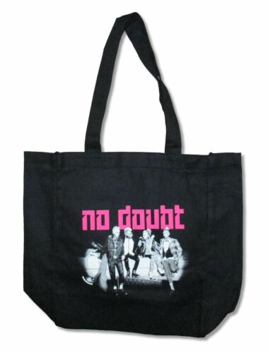 No Doubt B/&W Pose Black Tote Bag New Official