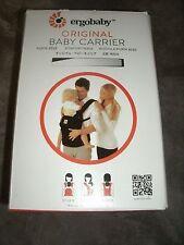 New in box Ergo Baby Carrier Original Black/Camel
