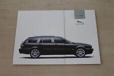 174256) Jaguar X-Type Estate Prospekt 08/2003