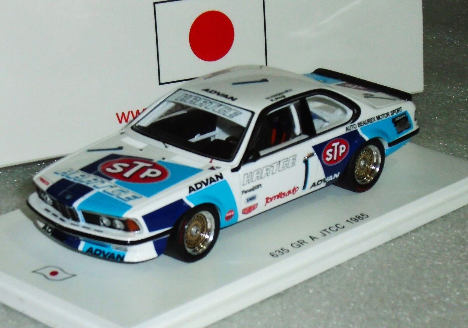 BMW 635 g. Un HARTGE STP  1 JTCC 1985 SPARK Lim. SJ026 1 43