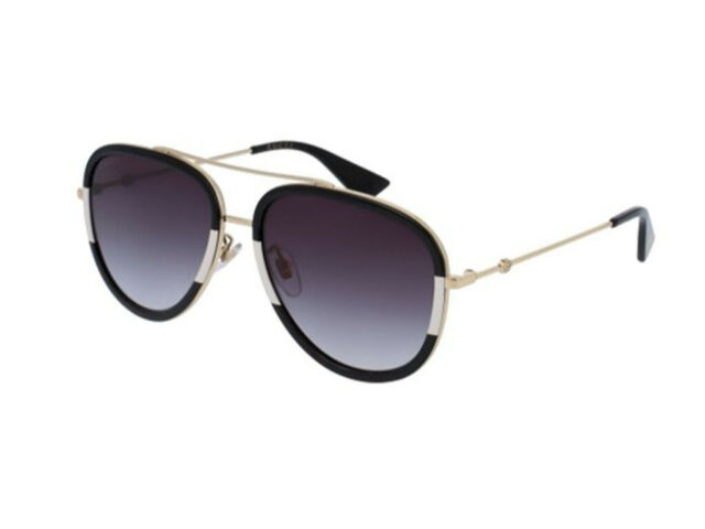 73fef28a515 Gucci Urban GG 0062s Sunglasses 006 Gold 100 Authentic for sale ...