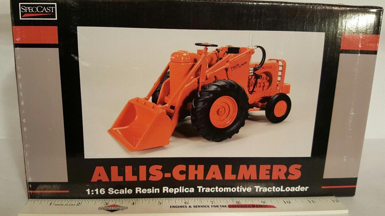 Allis Chalmers tractomotive tractoloader Modelo Tl-W  Cargador De Granja De Resina