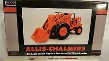 Allis Chalmers Tractomotive TractoLoader Model TL-W 1/16  resin farm loader