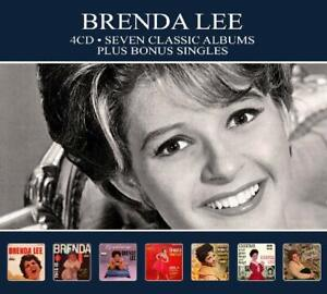 Brenda Lee SEVEN (7) CLASSIC ALBUMS Miss Dynamite EMOTIONS New Sealed 4 CD