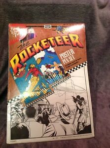 Disney The Rocketeer 1991 Movie Rose Art Poster Pen Coloring Set No ...