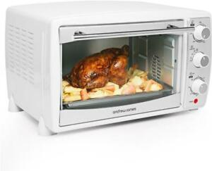 Andrew-James-Mini-Oven-with-Grill-Electric-Table-Top-Cooker-20L-White
