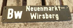 Lokschild-Dampflok-des-BW-Neuenmarkt-Wirsberg-Schiefen-Ebene-nicht-original