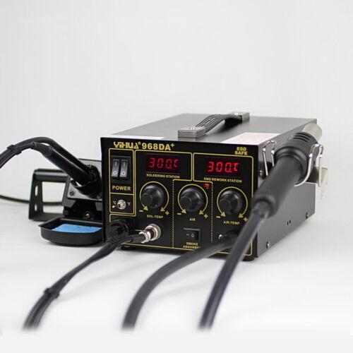 110V or 220V 720W 3 in1 Soldering ReWork Station Soldering Iron Hot Air Gun