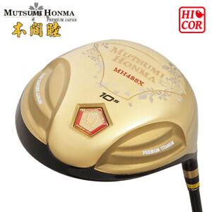 SALE-Mutsumi-Honma-Mh488X-Premium-Titanium-DRIVER-Hi-COR-488cc-10-5-R