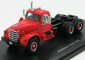 NEO SCALE MODELS 1/64 DIAMOND | T921 TRACTOR TRUCK 3-ASSI 1955 | RED BLACK