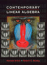 Contemporary Linear Algebra by Howard Anton Hardcover Book (English)