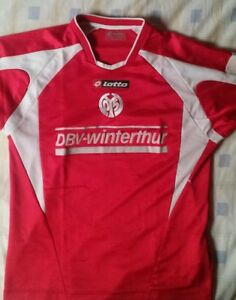 camiseta-jersey-shirt-maillot-maglia-trikot-LOTTO-FSV-MAINZ-05-DEUTCHLAND-M