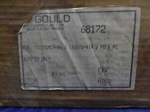 New Gould Shawmut Large Power Distribution Block 68172 600V 2 Pole 310 AMP NIB