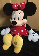 """EXTRA LARGE DISNEY MINNIE MOUSE PLUSH/SOFT TOY - CLASSIC MINNIE MOUSE - 27"""" TALL"""