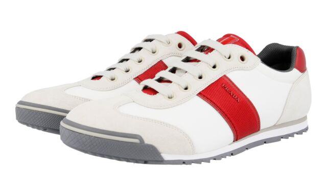 Auth Luxury PRADA Trainers Shoes 4E2382
