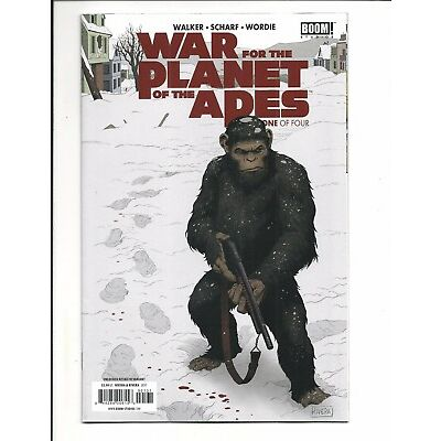 WAR FOR THE PLANET OF THE APES # 1 (RETAILER INCENTIVE COVER, JULY 2017), NM NEW