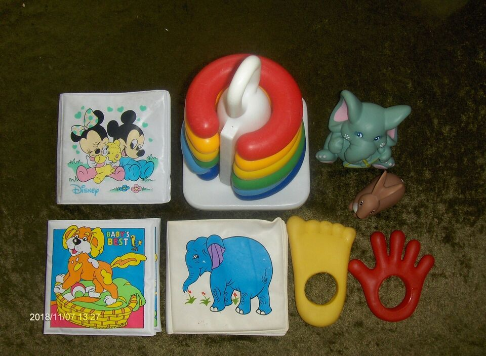 Blandet legetøj, BABY LOT, FORSKELLIGT