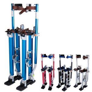 Adjustable-24-40-034-Aluminum-Drywall-Plastering-Stilts-Tool-Painter-INCD-VAT