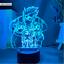 thumbnail 10 - Anime 3d Lamp Naruto Sasuke Kakashi Hinata Obito Itachi Acrylic LED Light Remote