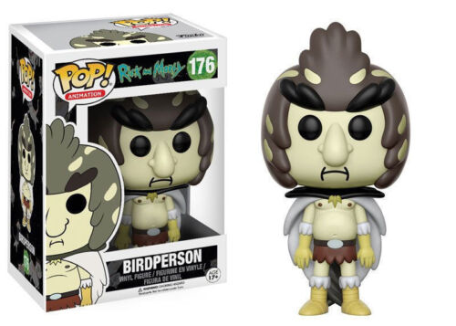 176 Birdperson Funko POP Animation Rick and Morty Netflix NEW !!!