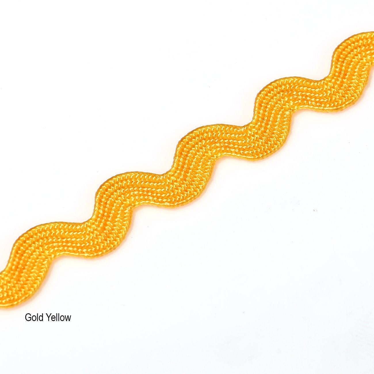 6mm Rik Rak Ric Rac S Bend Zig Zag Trim Ribbon Trimming Braid,15Yards,Neotrims