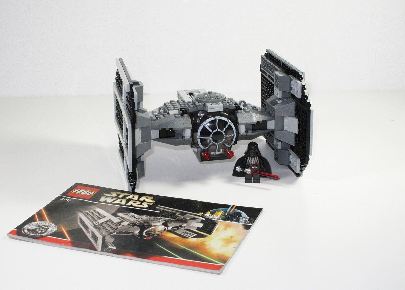 LEGO estrella guerras 8017-Darth Vader's TIE combatiente  100% completare  stanno facendo attività di sconto