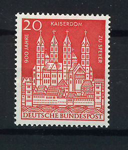 ALEMANIA-RFA-WEST-GERMANY-1961-MNH-SC-843-Cathedral-Speyer
