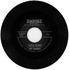 "SKIP MANNING  ""DEVIL BLUES""     CLASSIC MOODY 60's R&B  LISTEN!"