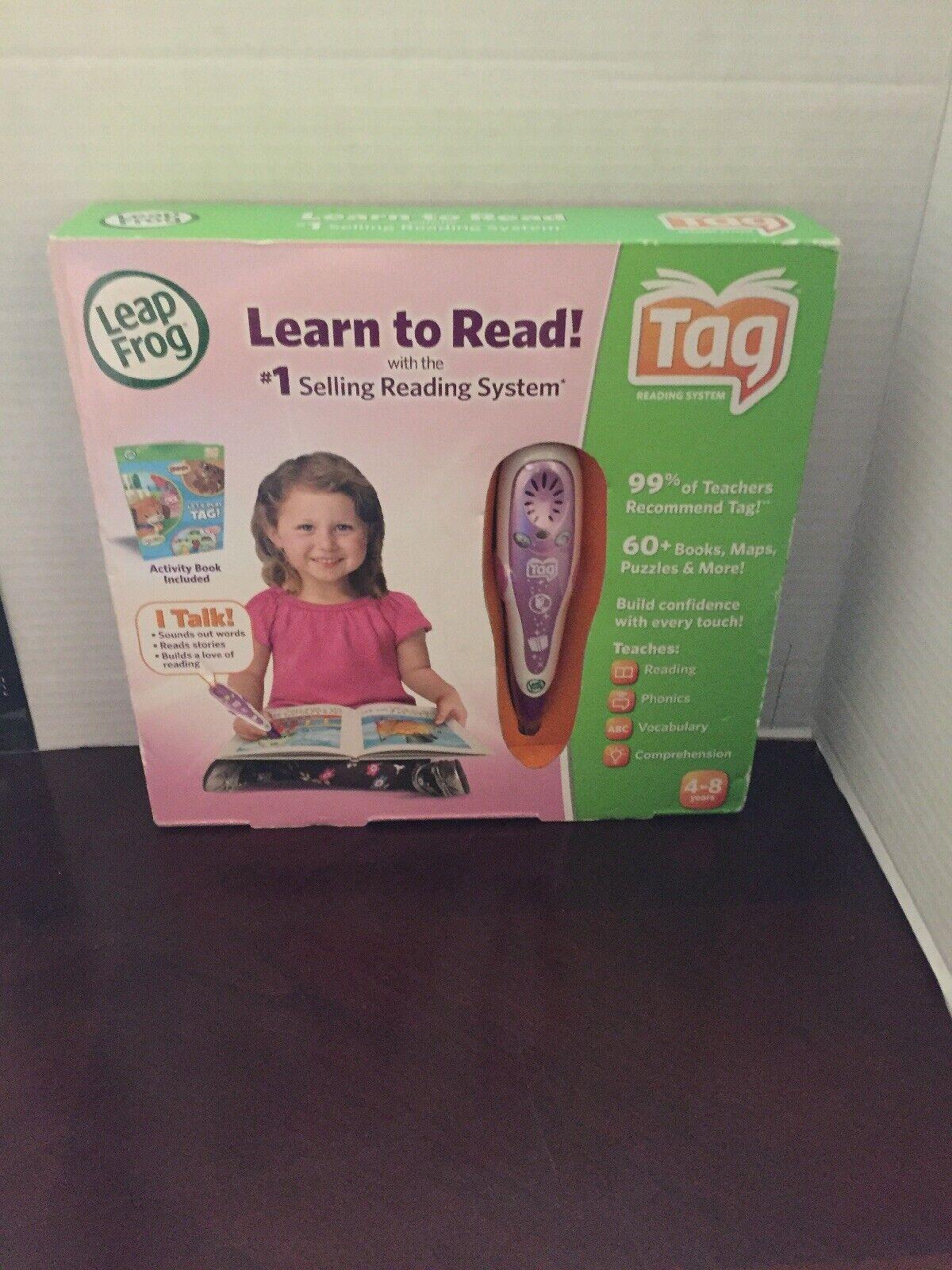 Mejor precio Leapfrog aprender a leer con el el el sistema de lectura de venta de 1 con Libro De Actividad Nuevo  buena calidad