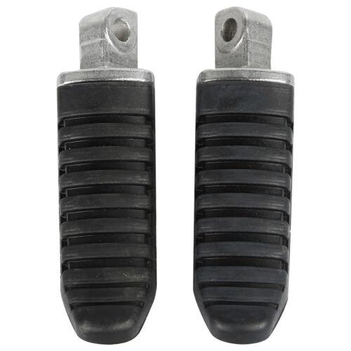 Black Rear Footrest Foot Pegs For Suzuki Hayabusa GSX 1300R 2008-2012 10 GSX650