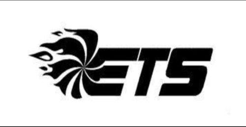 2 ETS Stickers Decals Vinyl SUBARU FR-S MAZDA STi EVO GTR Logo Aftermarket