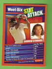 WEETBIX STAT ATTACK CRICKET CARD #4 ANDREW SYMONDS