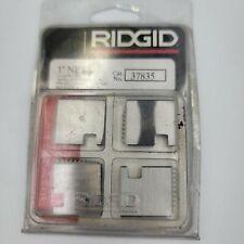 New Old Stock Ridgid Pipe Threading Dies 37835 1 12r Npt 11 12 Tpi Rh