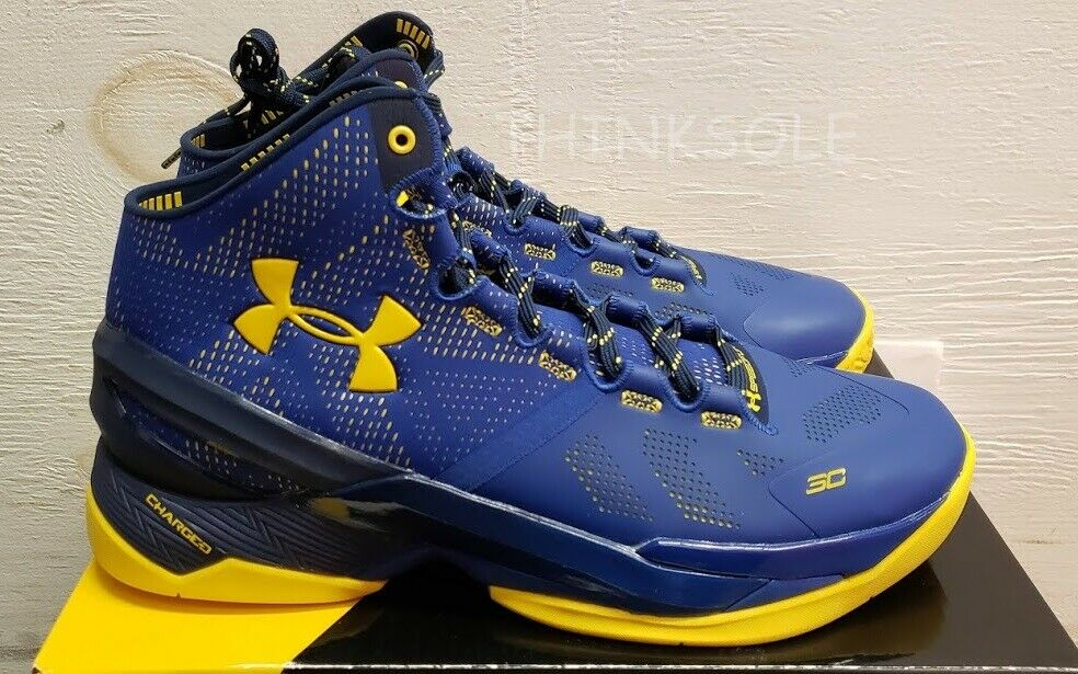 UNDER ARMOUR CURRY 2 DUB NATION AWAY NAVY SC30 1259007-035 1259007-035 1259007-035 Dimensione 11 WARRIORS 983070