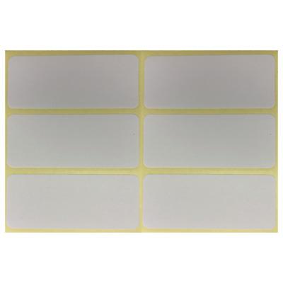 Tiefkühl Gefrier Klebeetiketten 60 Etiketten 73 x 34mm weiß-blau selbstklebend