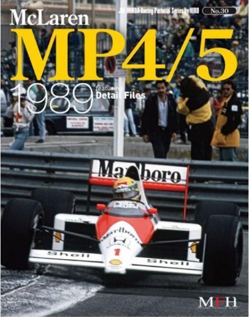 Mfh Buch No30. Mclaren Honda Mp4 5 1989 Rennsport Gepunktet Serie von Hiro