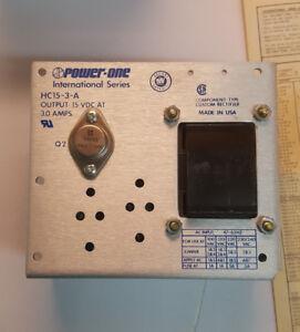 FREE-SHIP-Power-One-International-Series-HC15-3-A-Power-Supply-15v-3a-HC15-3-0-A