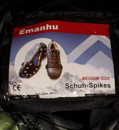 2 Paar Schuh-Spikes Medium Size Marke Emanhu NEU u. OVP