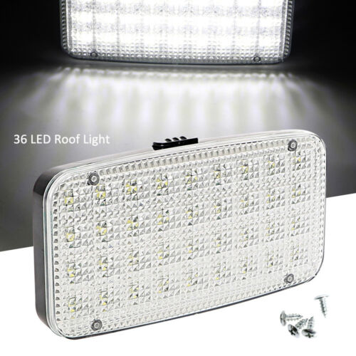 12V 36 LED Car Interior Lights Camper Van Boat Caravan Roof Doom Light Lamp UK
