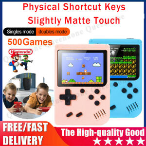 Built-in 500 Classic Games Handheld Retro Video FC Game Console Gameboy Gift US`