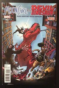 Moon-Girl-amp-Devil-Dinosaur-2-2016-Second-Printing-variant-Marvel-Comic-2nd-Print