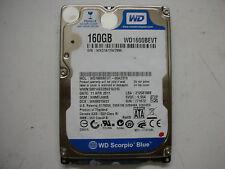 """WD Scorpio Blue 160gb WD1600BEVT-00A23T0 2061-771672-F04 AD 2,5"""" SATA"""