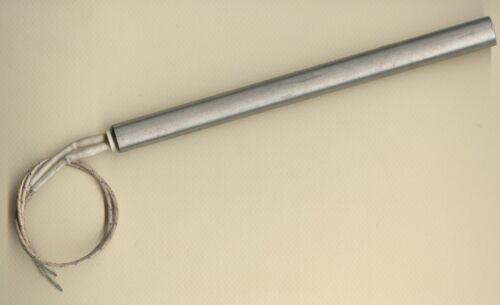 "FAST HEAT Cartridge Heater 5//8/"" Dia X 8/"" Long 1000W 240V 12/"" Fiberglass Leads"