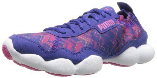 PUMA BUBBLE XT HYPER LOW SNEAKERS WOMEN Schuhe PURPLE/ROT 187193-03 SIZE 10 NEW