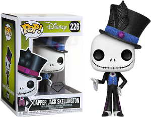 DIAMOND-Glitter-DAPPER-JACK-Funko-Pop-Vinyl-New-in-Box