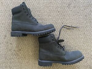 Timberland 6 Inch Premium Waterproof Boots 10073 Black US Men's Size 9.5 W