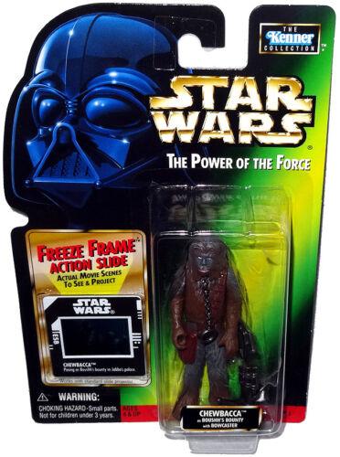 Star Wars Chewbacca Boushh/'s Bounty Action Figure Freeze Frame POTF MOC !