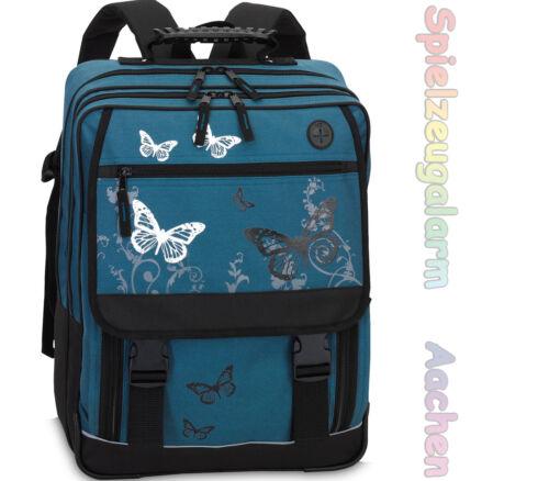Schulrucksack Schulranzen Ranzen Schmetterling Butterfly Schul Rucksack
